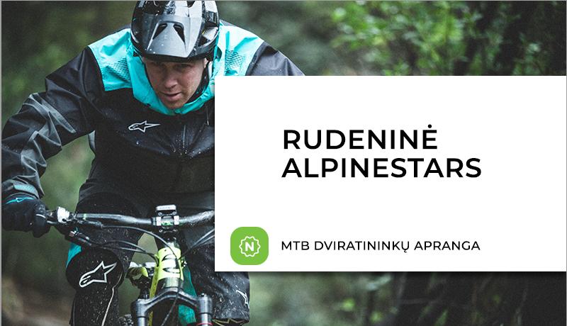 Nauja ALPINESTARS dviratininkų aprangos ir batelių kolekcija