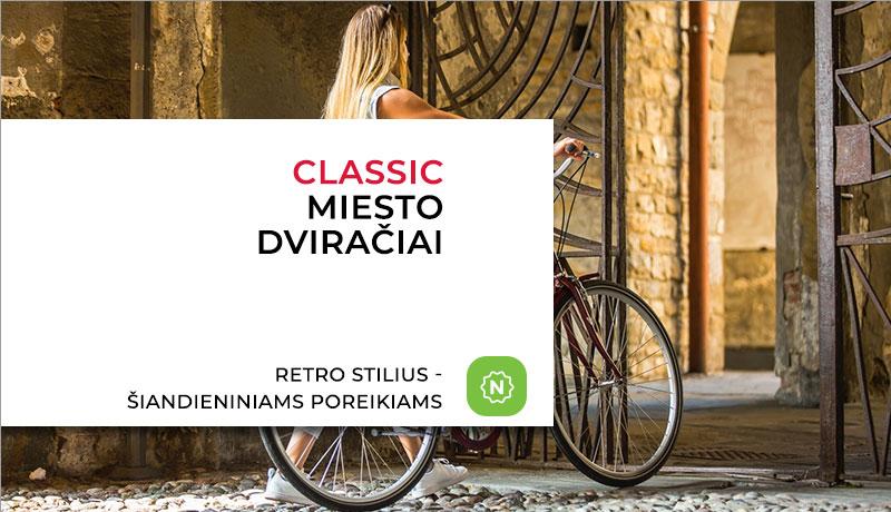 CLASSIC dviračiai
