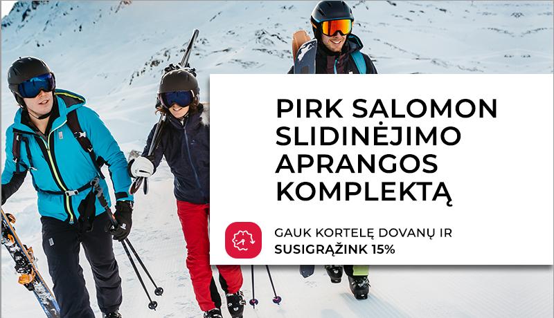Salomon slidinėjimo apranga